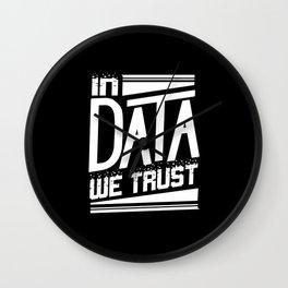 Programming Data Scientist Wall Clock