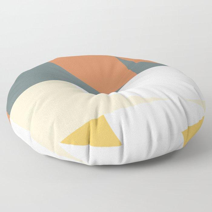 Abstract Geometric 02 Floor Pillow