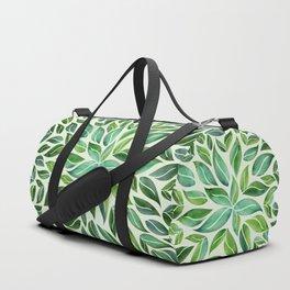 Spring Leaf Mandala Duffle Bag