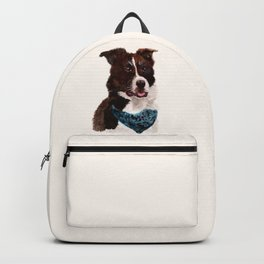 Chip the Border Collie Backpack