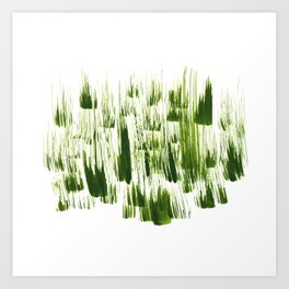 Windy Grass Art Print