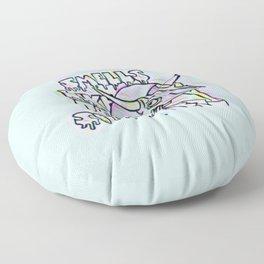 Smells Like Teen Spirit Floor Pillow