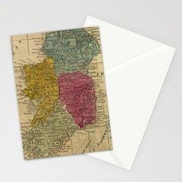 Vintage Map of Ireland (1808) Stationery Cards
