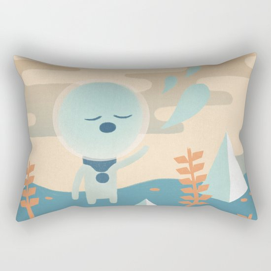 Space Traveler Rectangular Pillow