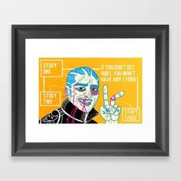 Better Sorry Than Safe Framed Art Print