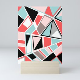 Abstract #534 Facets Mini Art Print