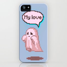 but i love you! iPhone Case