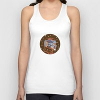 star lord Tank Tops featuring Headgear: Star-Lord film by Miguel Camilo