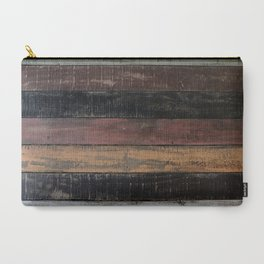 wood colors Carry-All Pouch