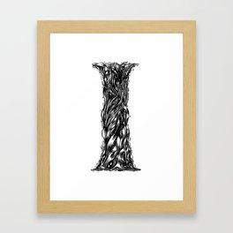 The Illustrated I Framed Art Print