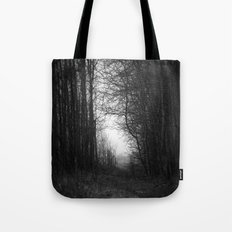 In the deep dark forest... Tote Bag