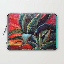 Southwest Desert Agave Cacti Sunrise Laptop Sleeve