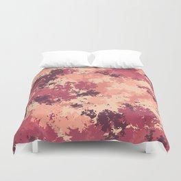 Flamingo camo Duvet Cover