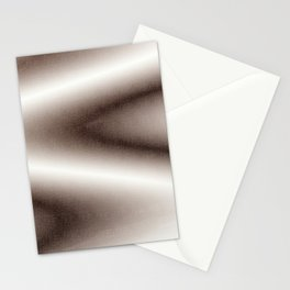 Brown and white gradient Stationery Cards