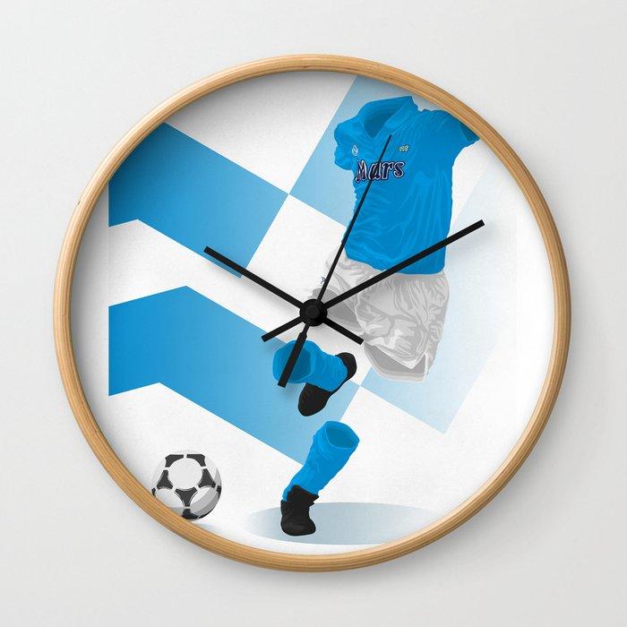 SSC Napoli 1989   Serie A Winners Wall Clock