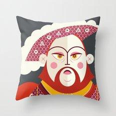 King Henry VIII of England Throw Pillow