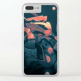 Wildstyle Close-Up - 18 Pristina Clear iPhone Case