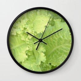 Organic Lettuce Wall Clock