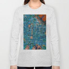 Odessa old map Long Sleeve T-shirt