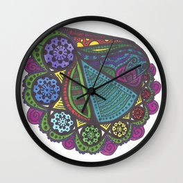 Lotus Eaters Wall Clock