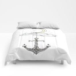 Anchor Your Dreams Comforters