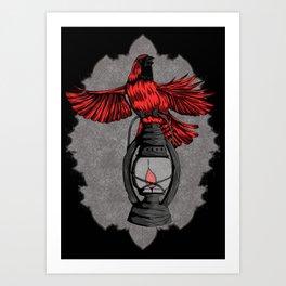 The Cardinal - Dark Art Print