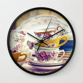Tea Party Wall Clock