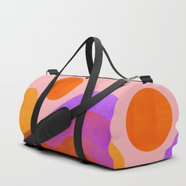 Abstraction_OCEAN_Beach_Wave_Minimalism_001 Duffle Bag