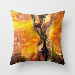 Life happens. It counts how you handle it. Throw Pillow