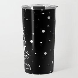 DINOSAUR IN SPACE! Travel Mug