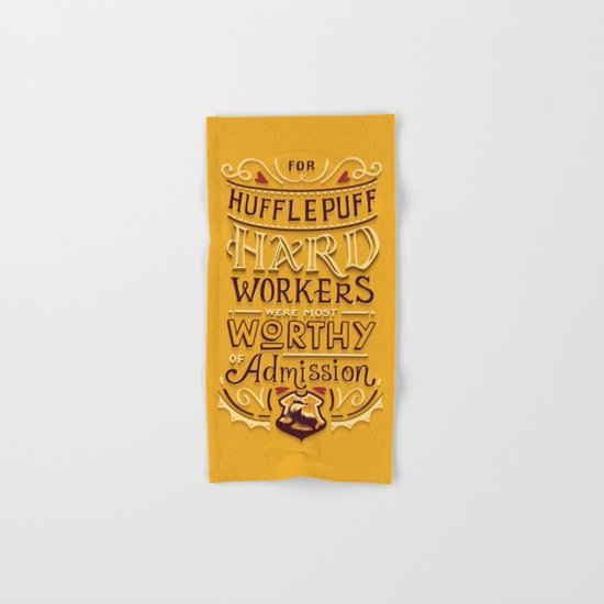 Hard Workers Hand & Bath Towel