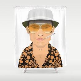 Raoul Duke Shower Curtain