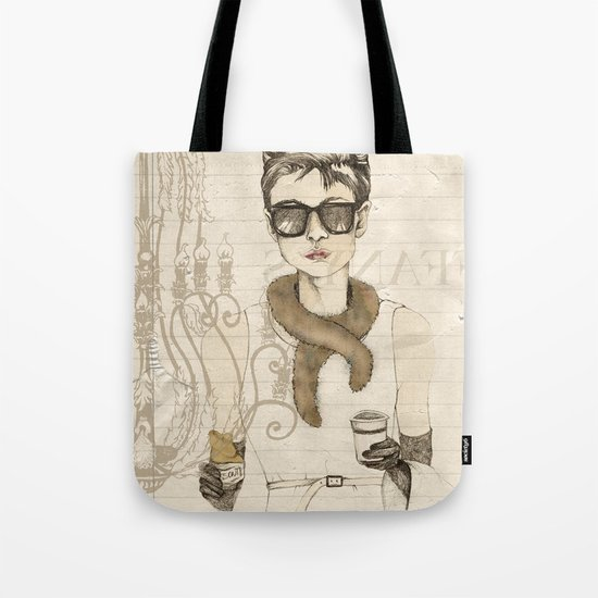 My breakfast at Tiffany's Tote Bag