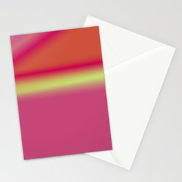 BLUE GREEN PURPLE PINK TEXTURE ART Stationery Cards