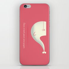 Pipe Whale iPhone Skin