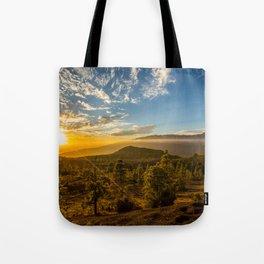 Brujas sunset Tote Bag