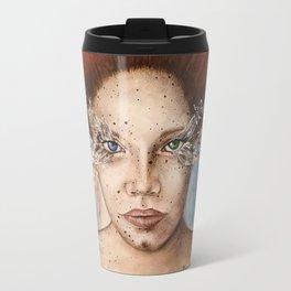 Up Close - Heterochromia  Travel Mug