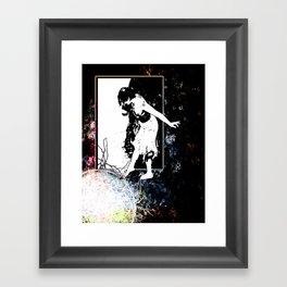 She is Transposed Framed Art Print