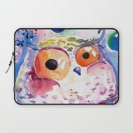 Bubble owl Laptop Sleeve