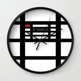 Red Scare Wall Clock