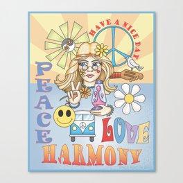 peace n love Canvas Print