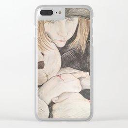 Death by Jessa Crisp Clear iPhone Case