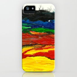 Hijuwe Hills iPhone Case