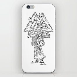 The Harvest Maiden: Ink Edition iPhone Skin