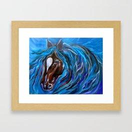 Horse of Color Framed Art Print