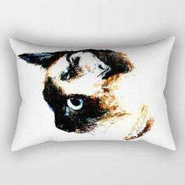 Siamese Cat 2015 edit Rectangular Pillow