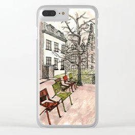 In Brussels Clear iPhone Case