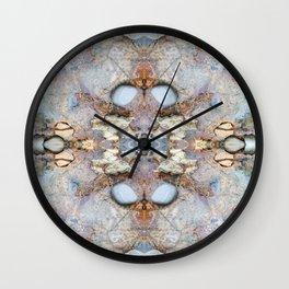 Blasting Creation (Mandala-esque #17b) Wall Clock