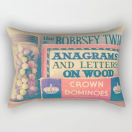 Vintage Toys Rectangular Pillow