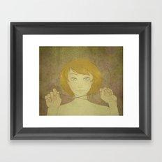 Abby - Roses Framed Art Print